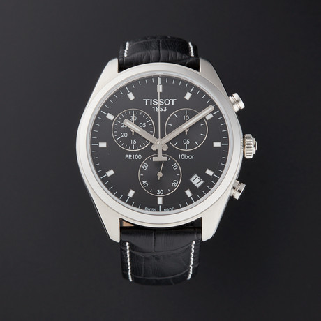Tissot PR 100 Chronograph Quartz // T101.417.16.051.00 // Pre-Owned