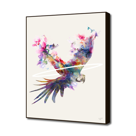 "Fly Away II (16""W x 20""H x 1.5""D)"