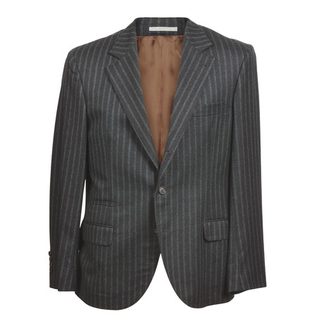 Brunello Cucinelli // Weston Blazer // Gray (Euro: 46)