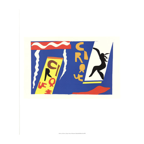 Henri Matisse // The Circus // 2001 Offset Lithograph