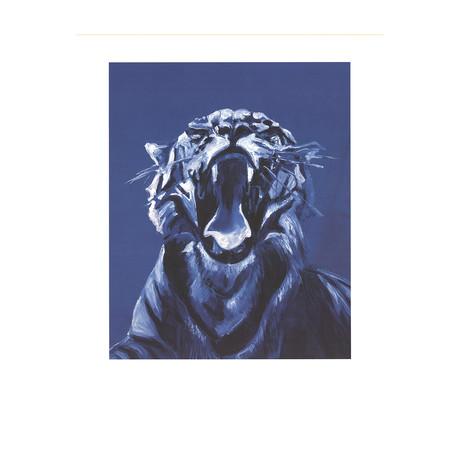 Jaques Monroy // Tigre No. 5 (Detail) // 2009 Offset Lithograph
