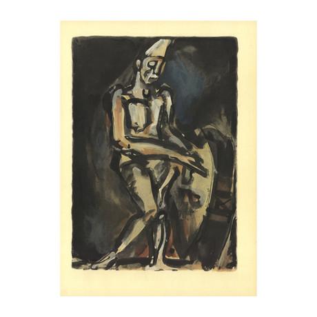 Georges Rouault // Le Clown // Lithograph