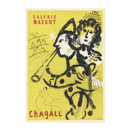 Marc Chagall // Galerie Maeght // 1969 Lithograph