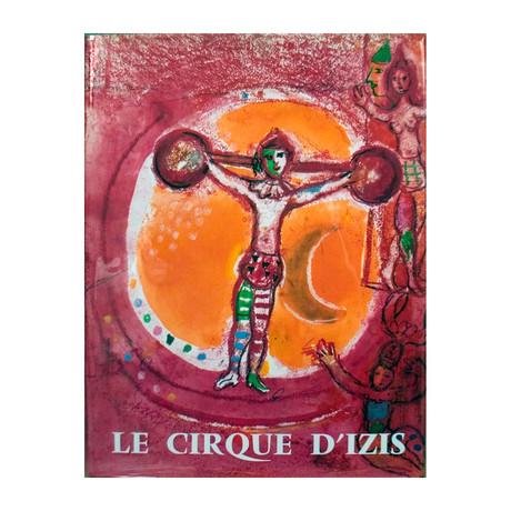 Chagall Le Cirque D'Izis // 1965 Book