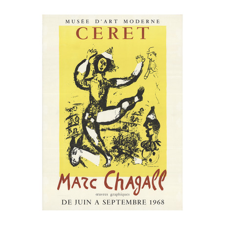 Marc Chagall // The Circus // 1968 Lithograph