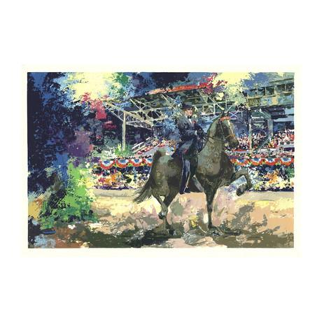 Wayland Moore // Circus Horse Show I // 1975 Serigraph