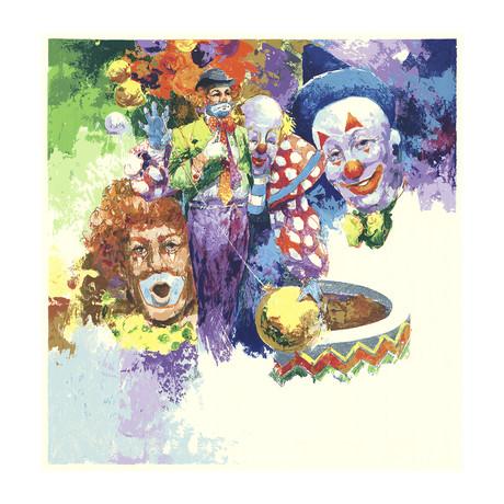 Uncle Tom // Clowns, Clowns, Clowns // 1977 Serigraph