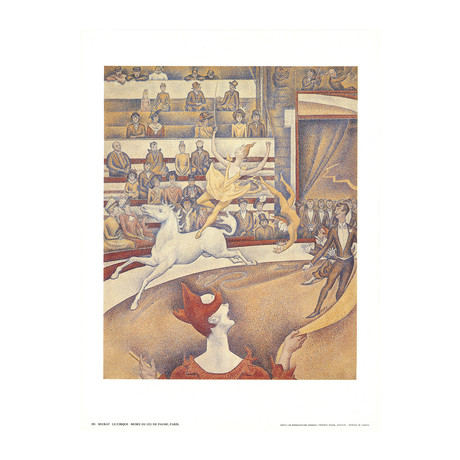 Georges Seurat // The Circus // Offset Lithograph