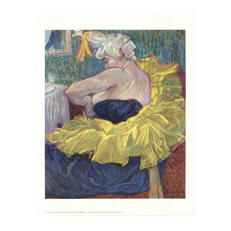 Henri de Toulouse-Lautrec // The Clowness // Offset Lithograph