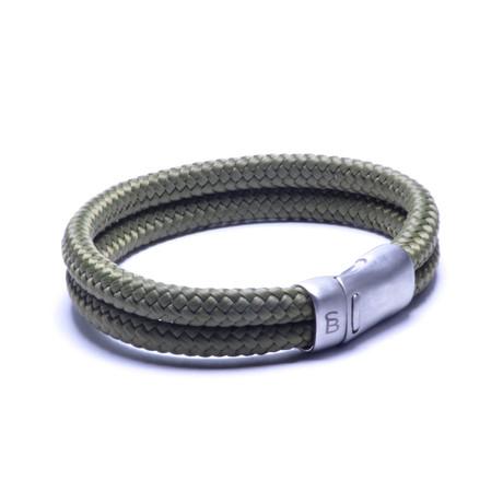 Rope Bracelet // Military Green (S)