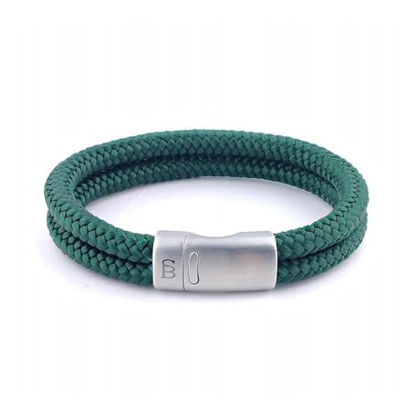 Rope Bracelet // Dark Green (S)