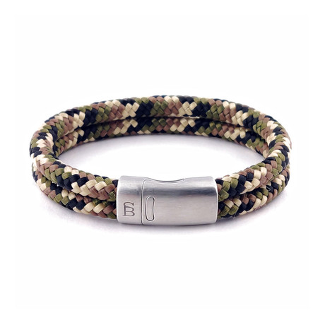 Rope Bracelet // Camouflage (S)