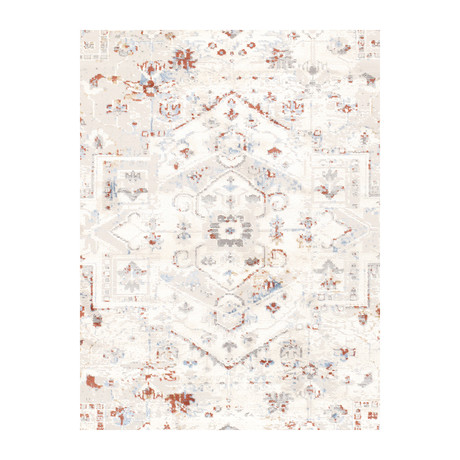 Modena Collection // Power Loom Area Rug // Multi (2'L x 3'W)