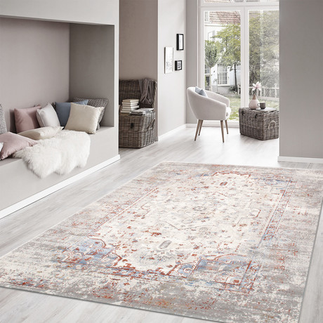 Modena Collection // Power Loom Area Rug // Multi // 9'L x 12'W