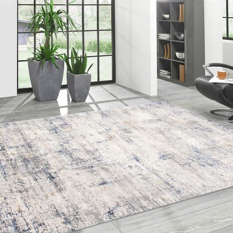 Cherry Design // Power Loom Area Rug // Light Gray (2'L x 3'W)