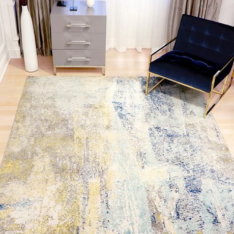 Chelsie Collection // Power Loom Area Rug // Multi (2'L x 3'W)