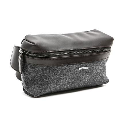 Bodybag Stars + Front Zip // Gray