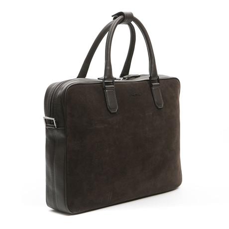 Briefcase Pitt // Brown