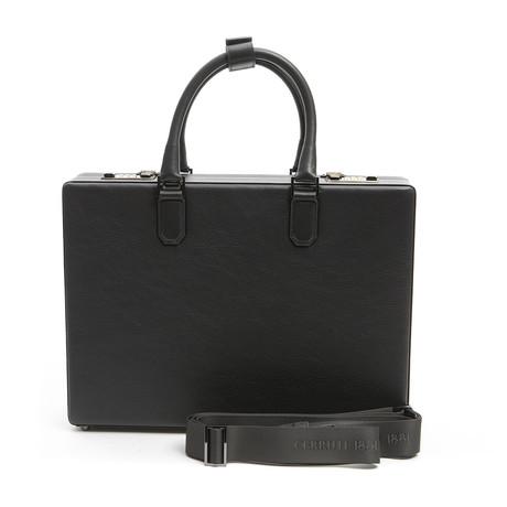 Briefcase Stars + Lock (Gray)