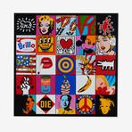 Mosaïc Pop Art // 25 Paintings