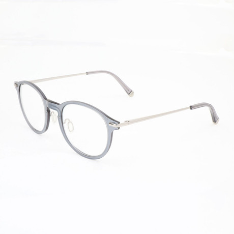 Unisex N. 01 Argento Optical Frames // Silver