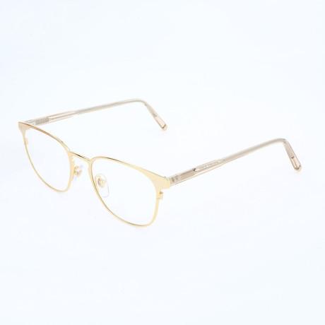 Unisex N. 37 Oro Optical Frames // Gold