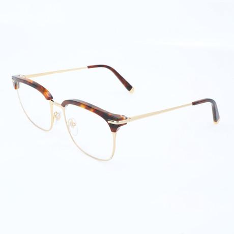 Unisex Numero 31 Classic Optical Frames // Havana + Gold