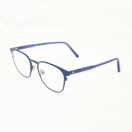 Unisex N. 37 Optical Frames // Blue