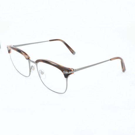 Unisex Numero 31 Optical Frames // Gray + Brown