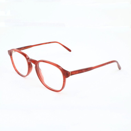 Unisex N. 02 Pietra Optical Frames // Red