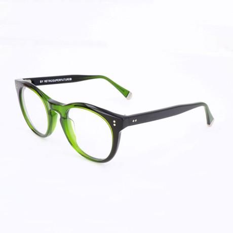 Unisex N. 28 Bottle Optical Frames // Green