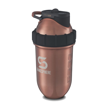 ShakeSphere Steel // 700mL // Copper Color