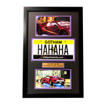 Suicide Squad // Joker // Replica License Plate Display