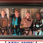 Ghostbusters // Ernie Hudson // Ecto-1A Cadillac // Signed Replica License Plate Display