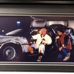 Back To The Future // Delorean // Replica License Plate Display