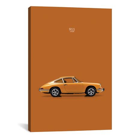 """1970 Porsche 911 // Mark Rogan (12""""W x 18""""H x 0.75""""D)"""