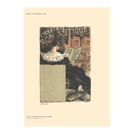 Eugene Grasset // Librairie Romantique // 1897 Lithograph