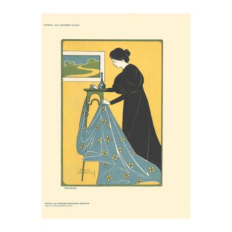 Henri Meunier // Gonthier-Meymans // 1897 Lithograph