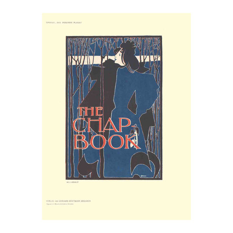 Will H. Bradley // The Chap Book // 1897 Lithograph