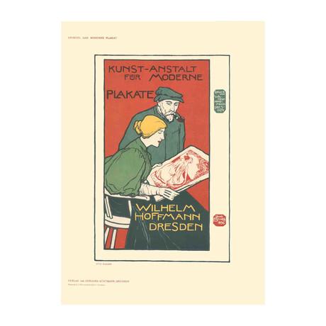 Otto Fischer // Kunst-Anstalt fur Moderne Plakate // 1897 Lithograph