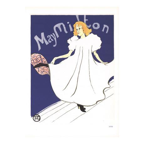 Henri de Toulouse-Lautrec // May Milton // 1966 Lithograph