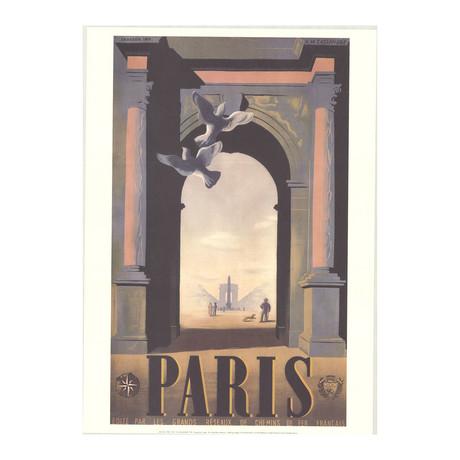 A.M. Cassandre // Paris // 1998 Offset Lithograph