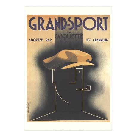 A.M. Cassandre // Grand Sport // 1998 Offset Lithograph
