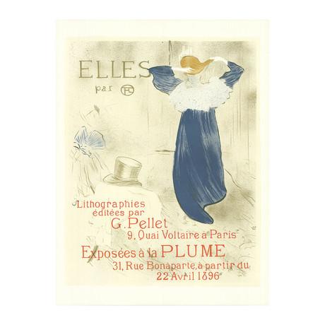 Henri de Toulouse-Lautrec // Exposees a la Plume // Lithograph