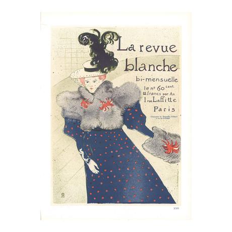 Henri de Toulouse-Lautrec // La Revue Blanche // 1966 Lithograph