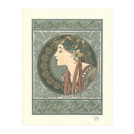 Alphonse Mucha // Le Laurier // Lithograph