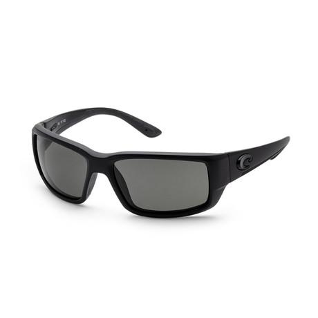 Unisex Fantail Sunglasses // Blackout + Gray
