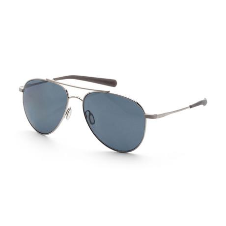 Women's Cook Sunglasses // Brushed Palladium + Gray