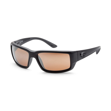 Unisex TF01OSCGLP Fantail Sunglasses // Blackout + Copper Mirror