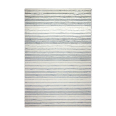 "Julie // Ivory + Silver (2'6"" x 8')"